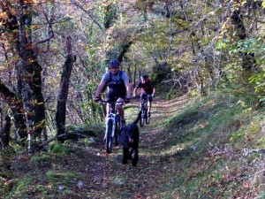 VTT Vercors Massif des Coulmes- Single du circuit 35