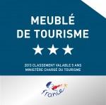 Meublé Tourisme 3*